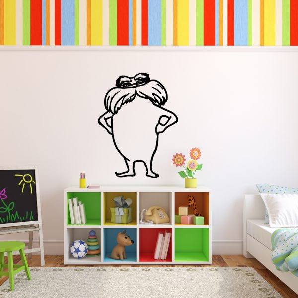 Dr. Seuss Character The Lorax Childrens Book Character Vinyl Wall Decal