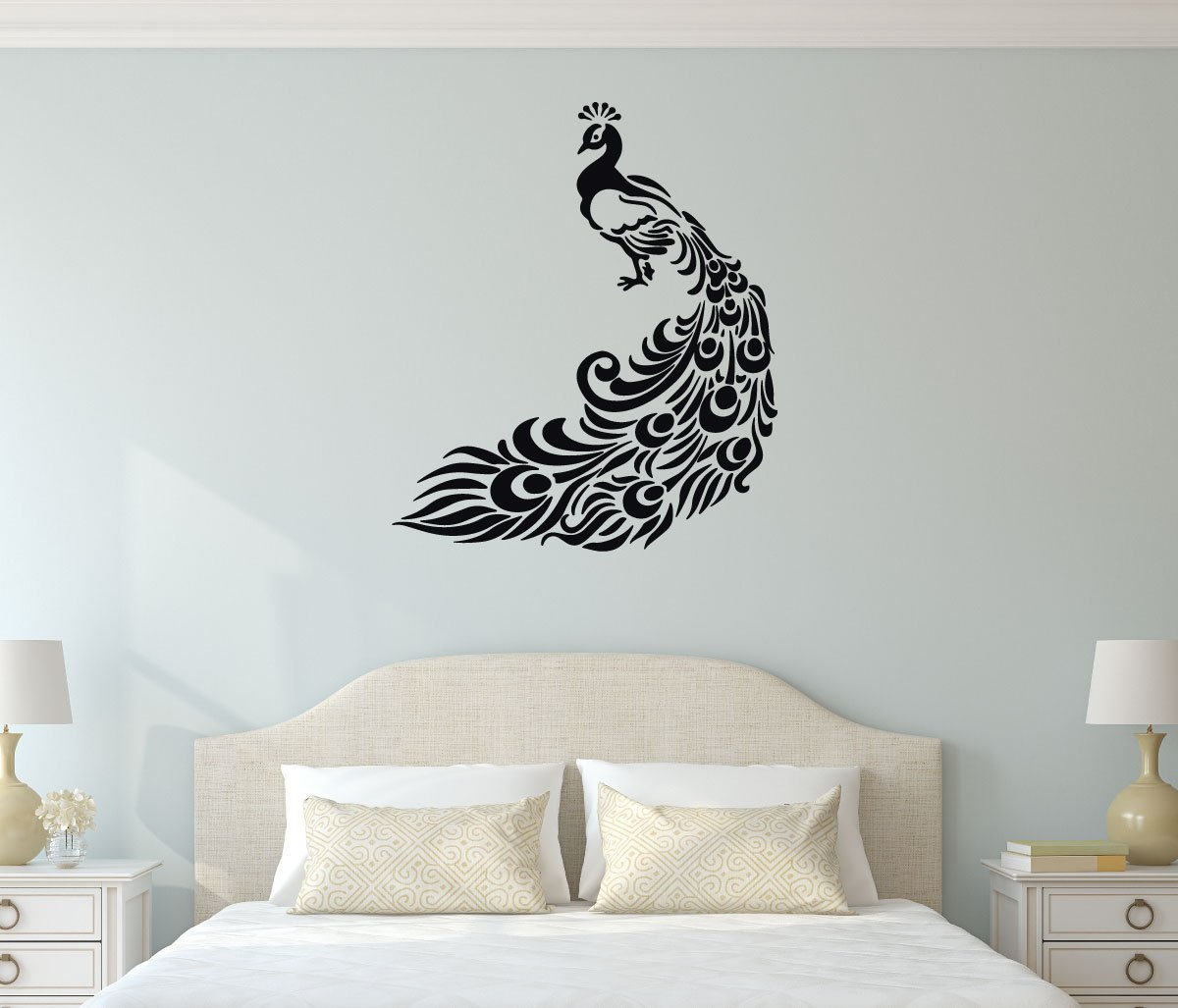 Bon Peacock Wall Decal Vinyl Decor For Home And More