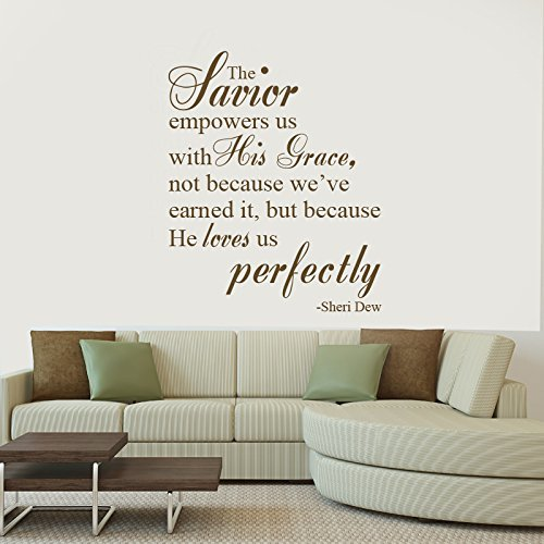 """""""The Savior Empowers Us With His Grace"""" - Sheri Dew LDS Quote"""