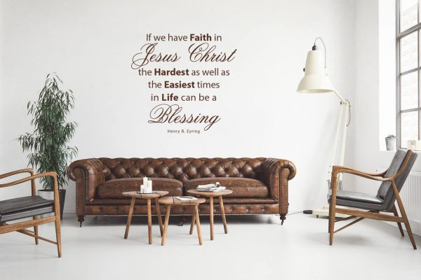 """""""Hardest Times In Life Can Be A Blessing...Faith in Jesus Christ """" - Henry B Eyring LDS Quote"""
