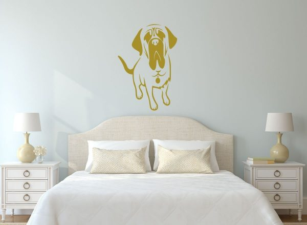 Hound Dog Vinyl Wall Decal Pet Shop Decoration or Home Decor