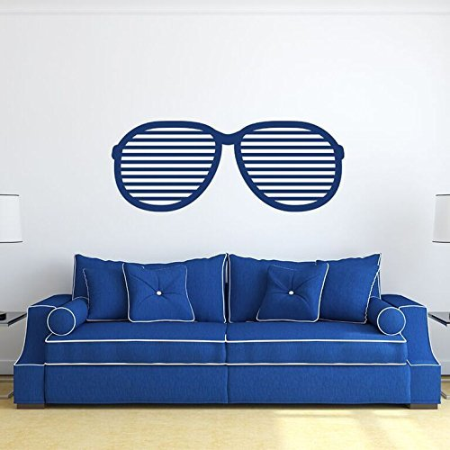 Chic Sunglasses Design Vinyl Wall Decal