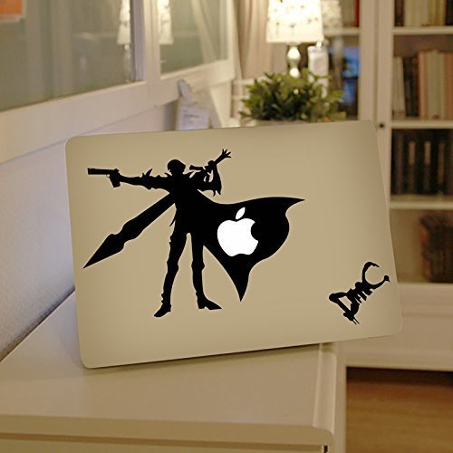 DMC Apple Macbook Laptop Decal, DMC Vinyl Design