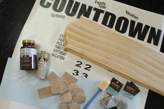 Events Countdown Board Vinyl - As Featured on The Thrifty Couple