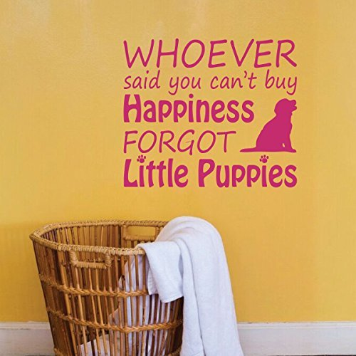 Animal Lovers Gift Puppies/ You Can't Buy Happiness Funny Saying  - Version 1