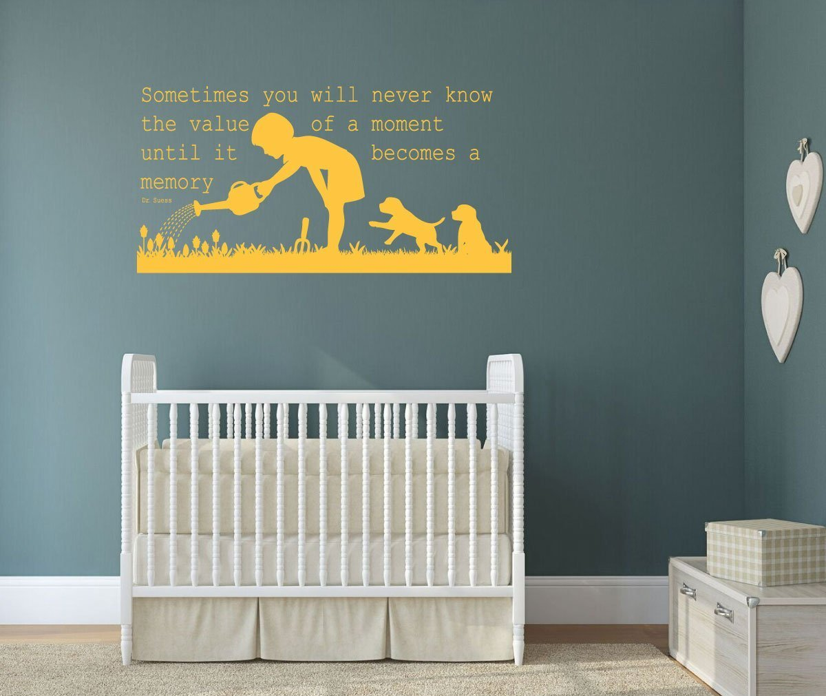 """Dr. Seuss Quotes Wall Decals """"Sometimes You Will Never Know"""""""