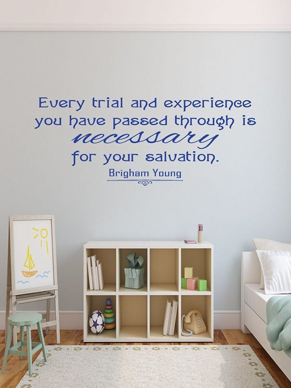 Brigham Young Quote Trials Necessary for Salvation