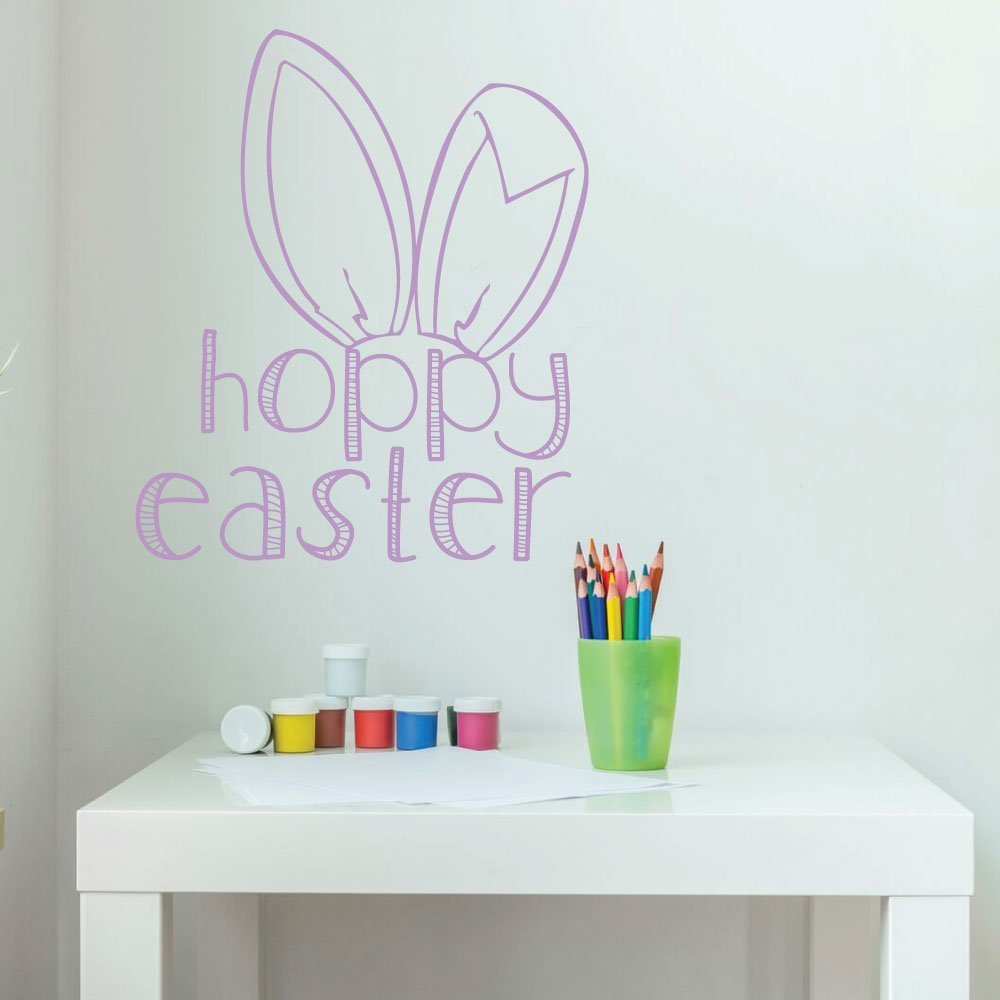 easter bunny decorations christian vinyl wall easter