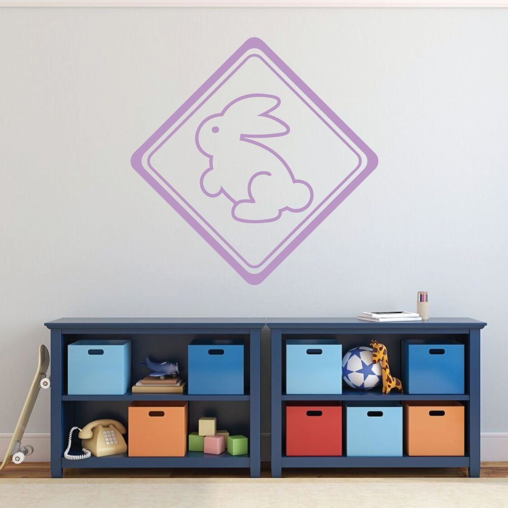 Easter Bunny Decorations, Easter Fun Vinyl Wall Art Decal Sticker