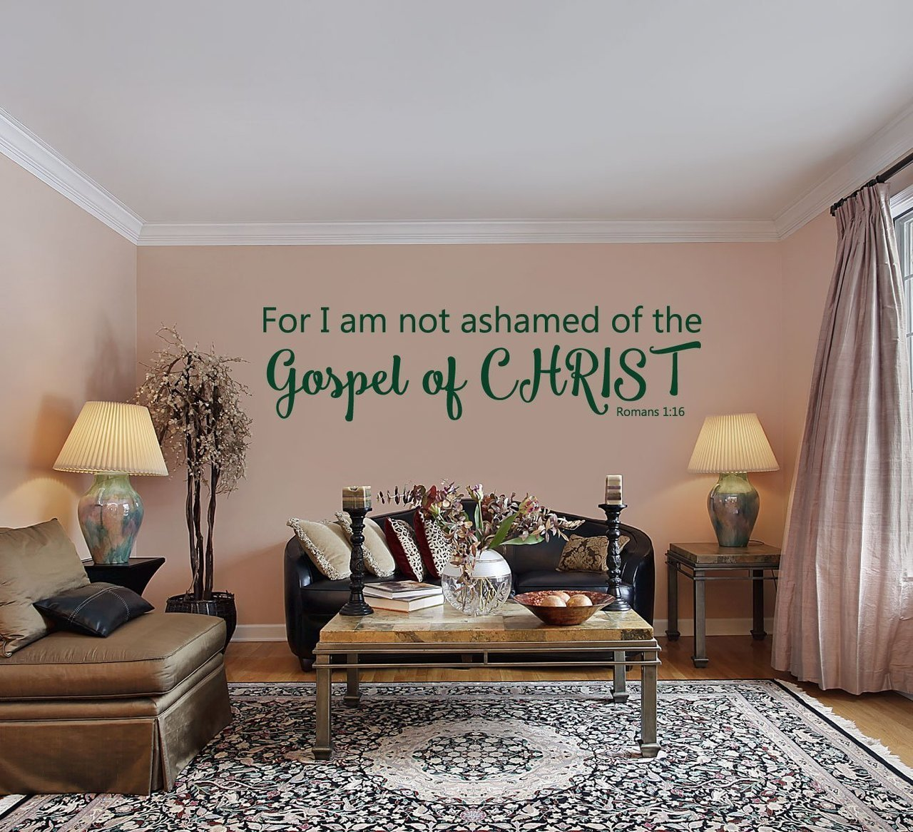 Bible Verse Wall Decals For Living Room