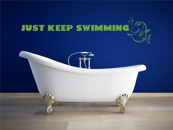 Just Keep Swimming Wall Decal - Disney Home Decor