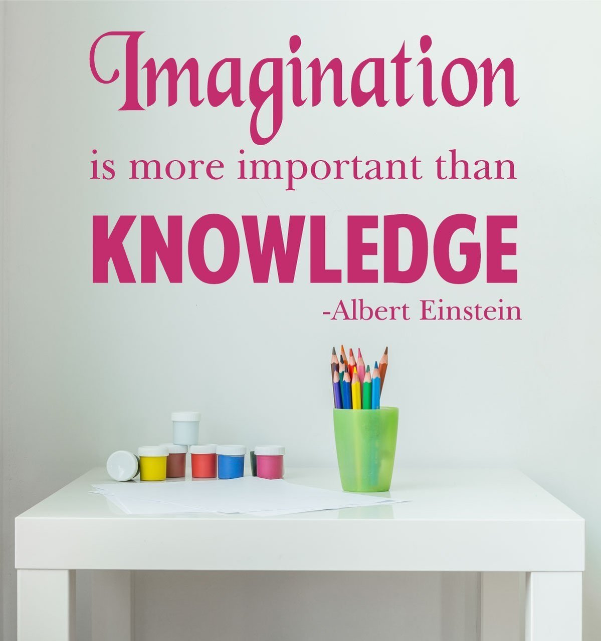 Einstein Quotes Imagination Is More Important Than Knowledge: Imagination Is More Important Than