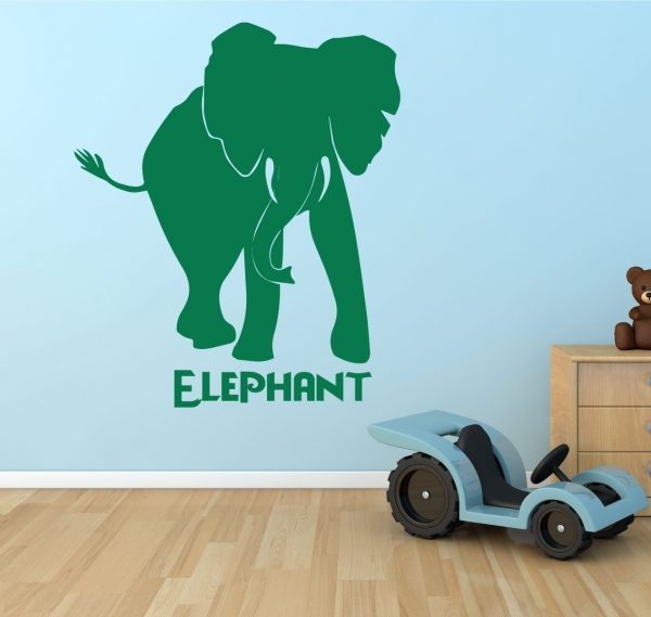 Zoo Animal Wall Decals - Elephant