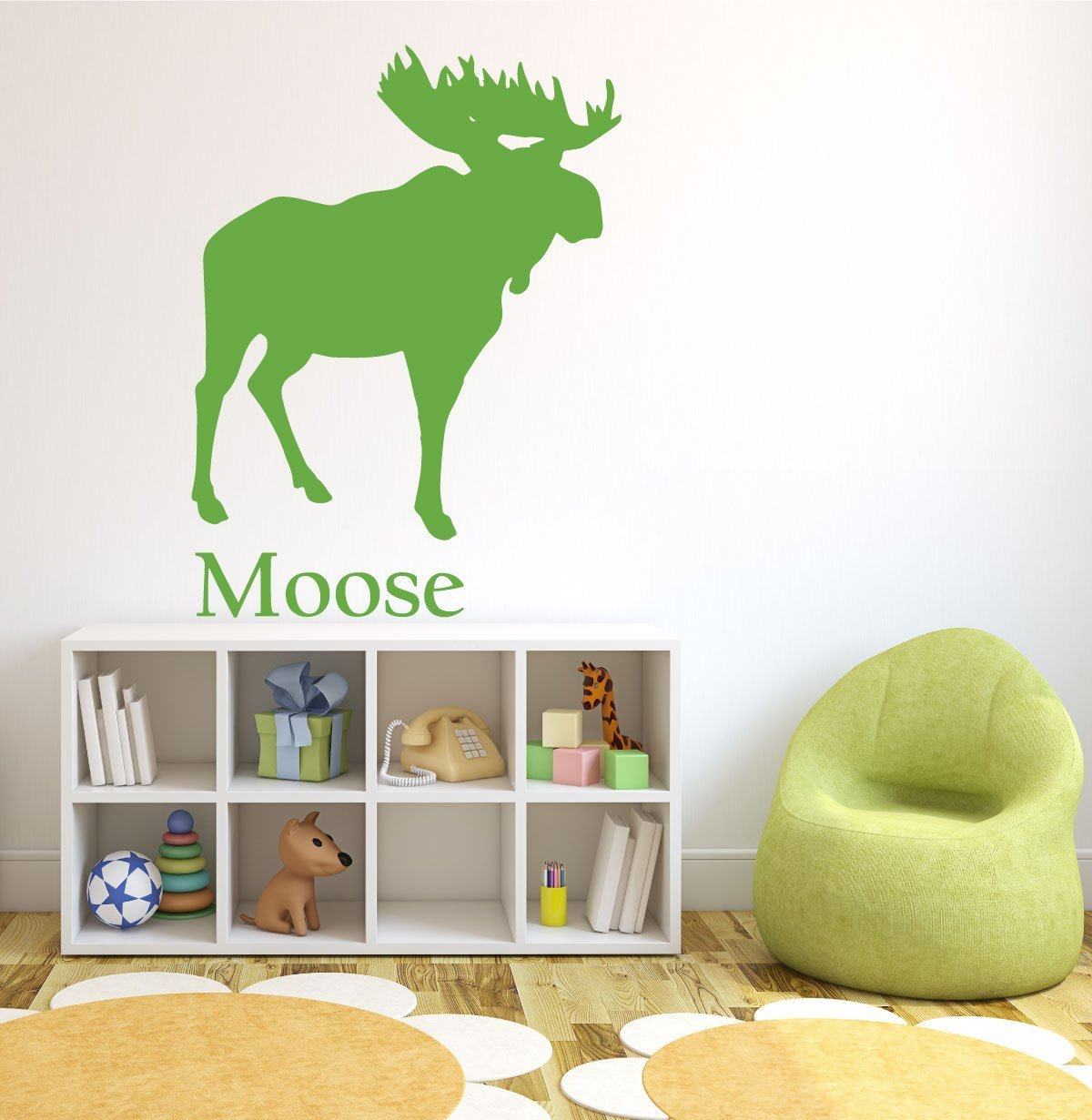 Forest Animal Wall Decals - Moose - North American Animals