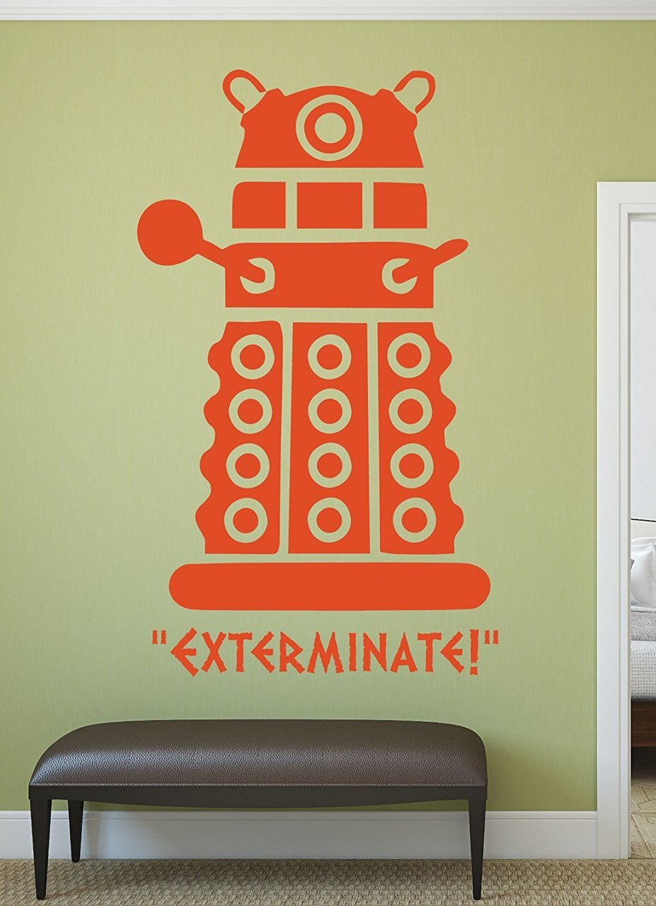 Doctor Who Decal - Dalek - Whovian