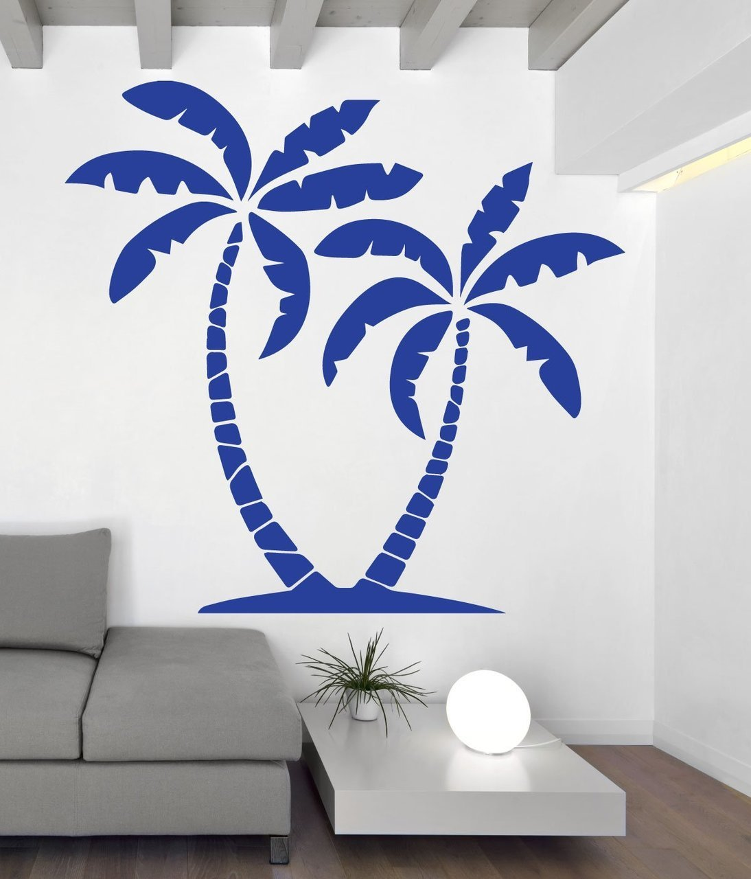 Palm Tree Wall Decal - Beach Party Decor