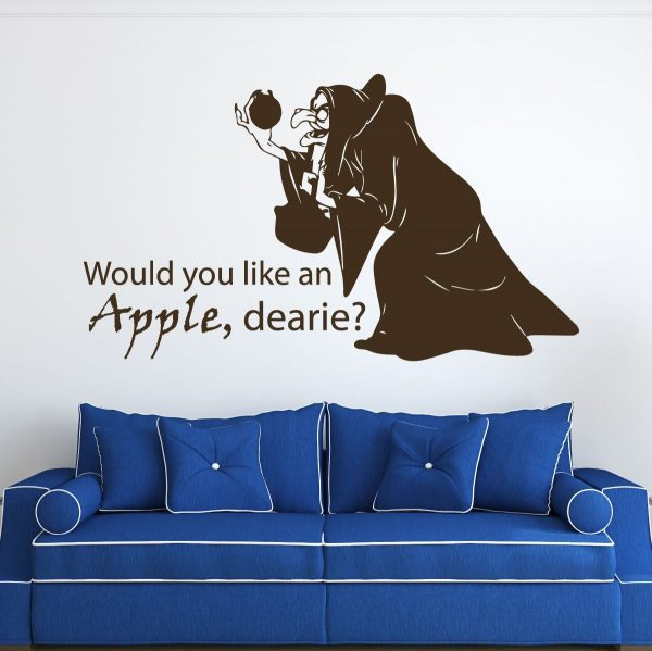 Disney Wall Decals Villain Wicked Witch Evil Stepmother Queen