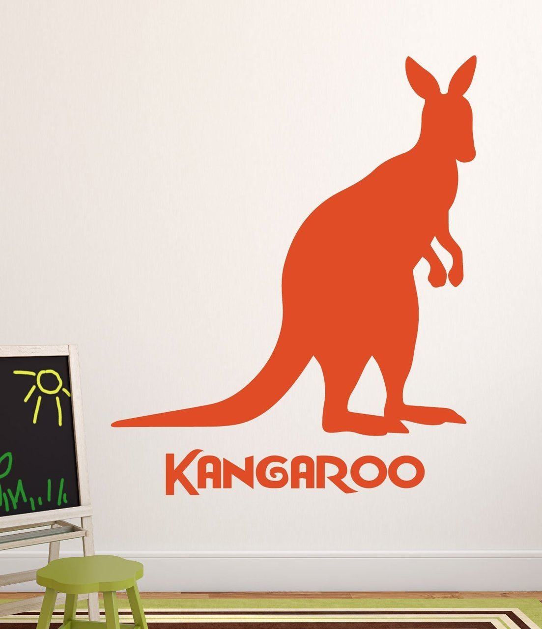 Zoo Animal Wall Decals - Kangaroo