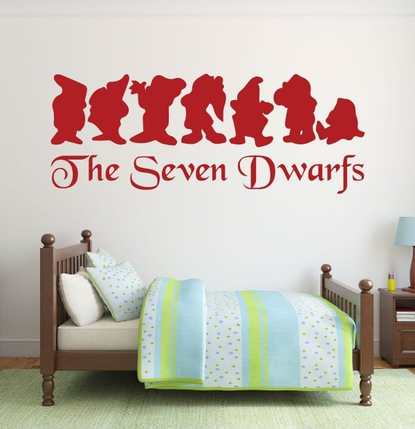 Disney Wall Decals - Snow White and the Seven Dwarfs