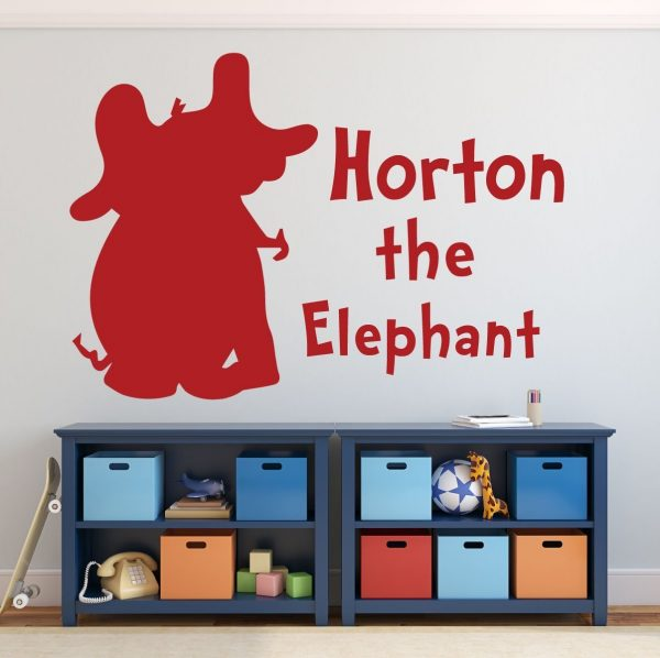 Dr. Seuss Wall Decals - Horton the Elephant