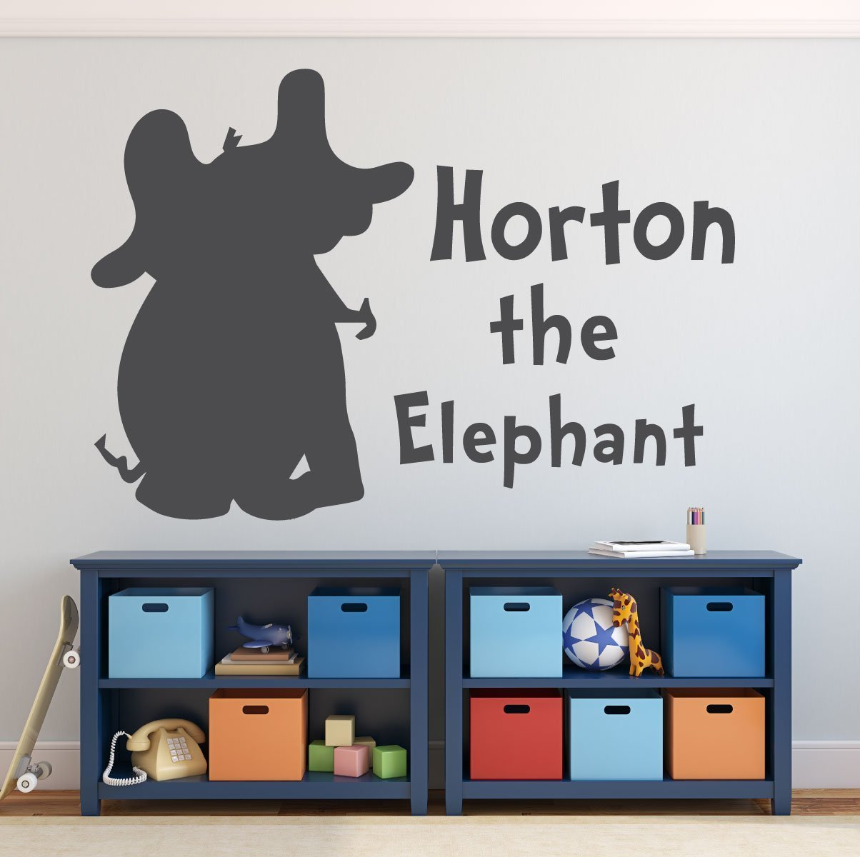 Dr. Seuss Wall Decals   Horton The Elephant