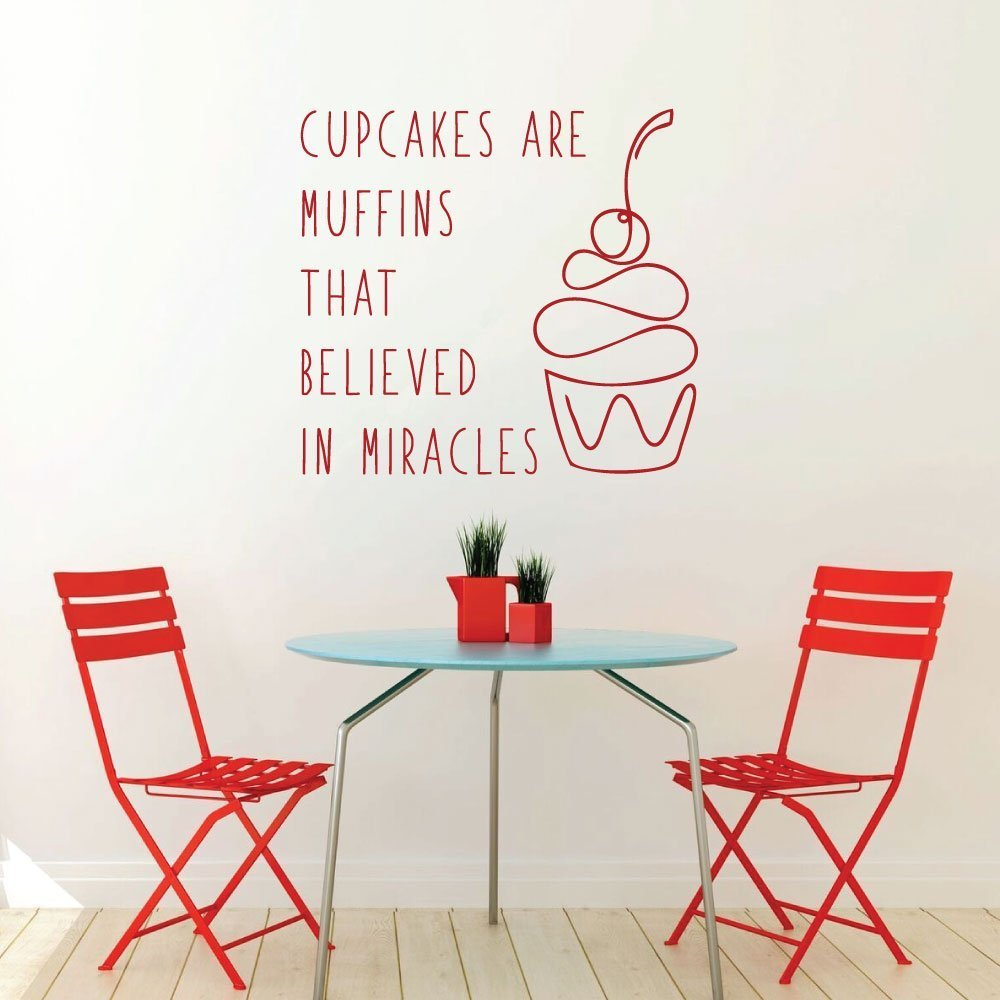 Cupcake Yummy Dessert Food Quote