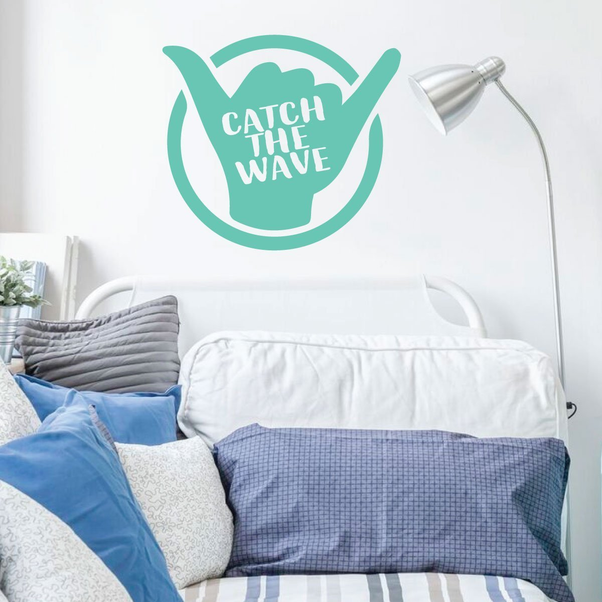 Surfing Wall Decor - Hang Loose Decal