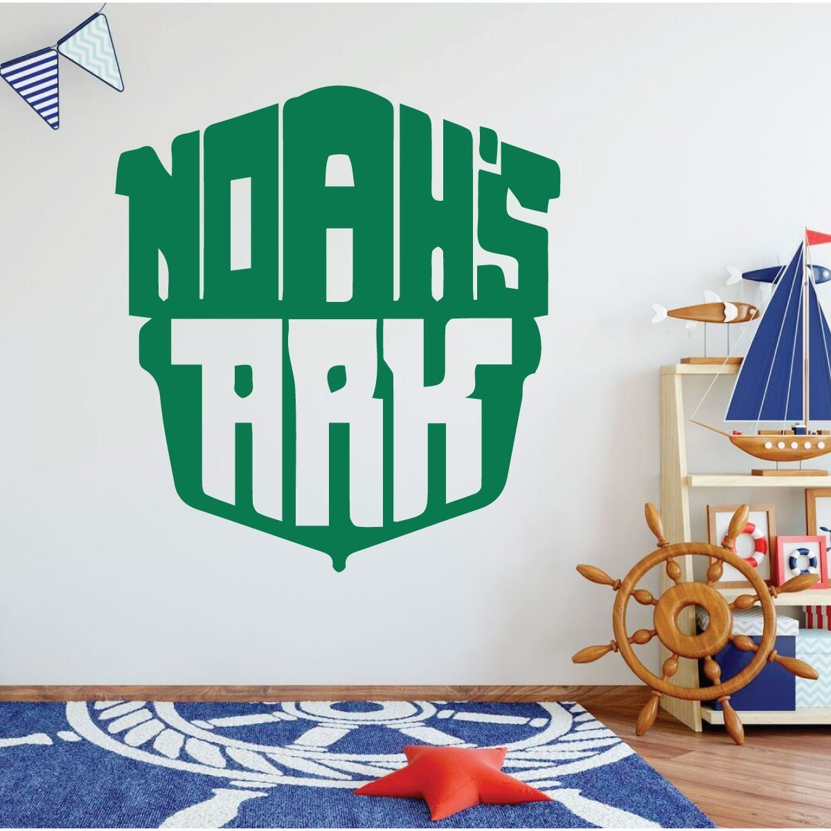 Noah's Ark - Christian Wall Art - Nautical Wall Decor