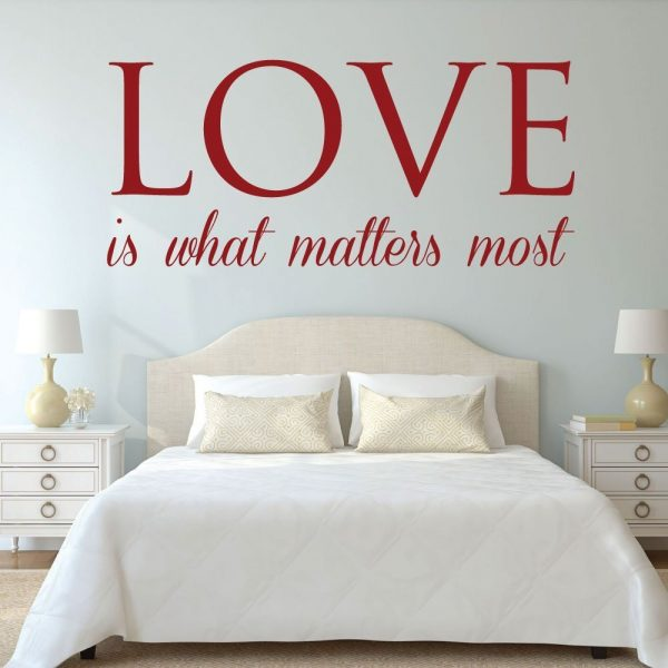 Love Wall Decor - Love Is What Matter Most