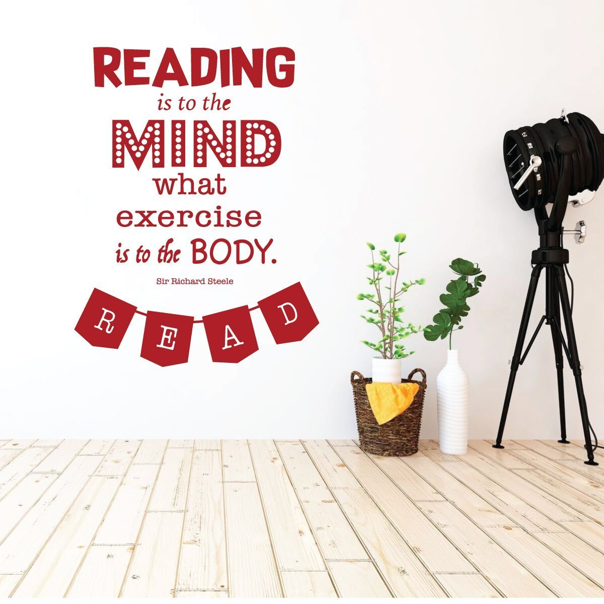 Classroom Decorations for Teachers - Reading is Exercise to the Mind