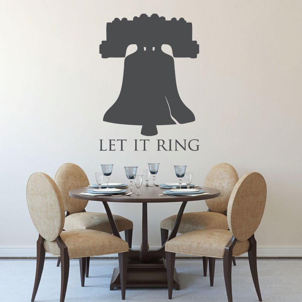 Patriotic Decals - Liberty Bell Wall Decor - Let It Ring