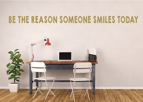 Kindness Quote - Be the Reason Someone Smiles Today