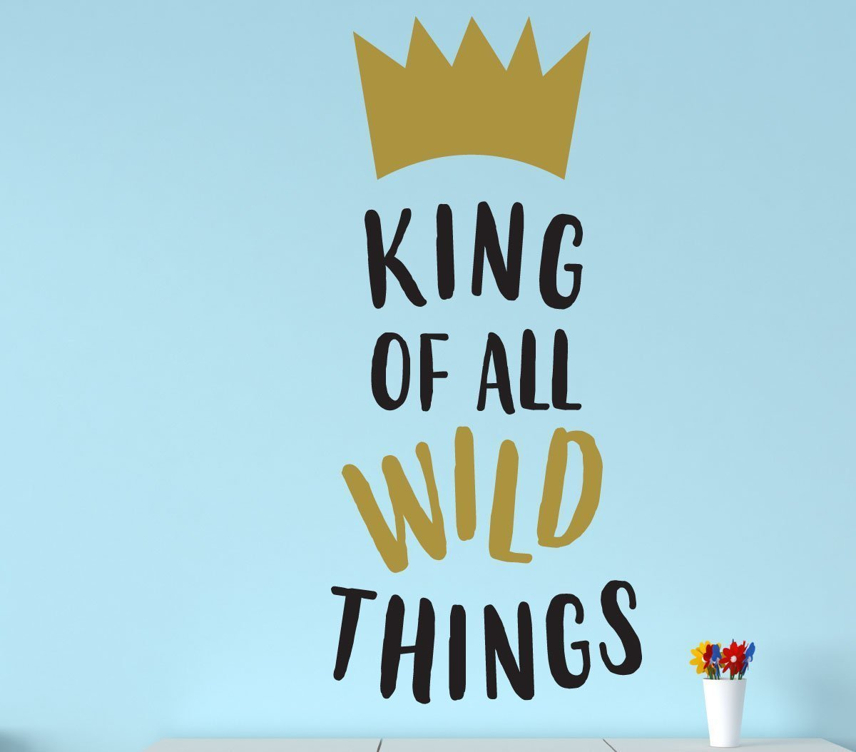 Wall Decal For Kids King Of Wild Things Where The Wild
