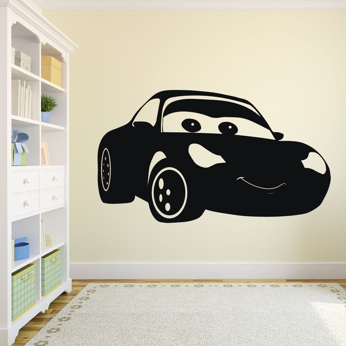 Disney Cars Sally Vinyl Decoration   Pixar Wall Decal   Personalized  Removable Art Sticker For Bedroom