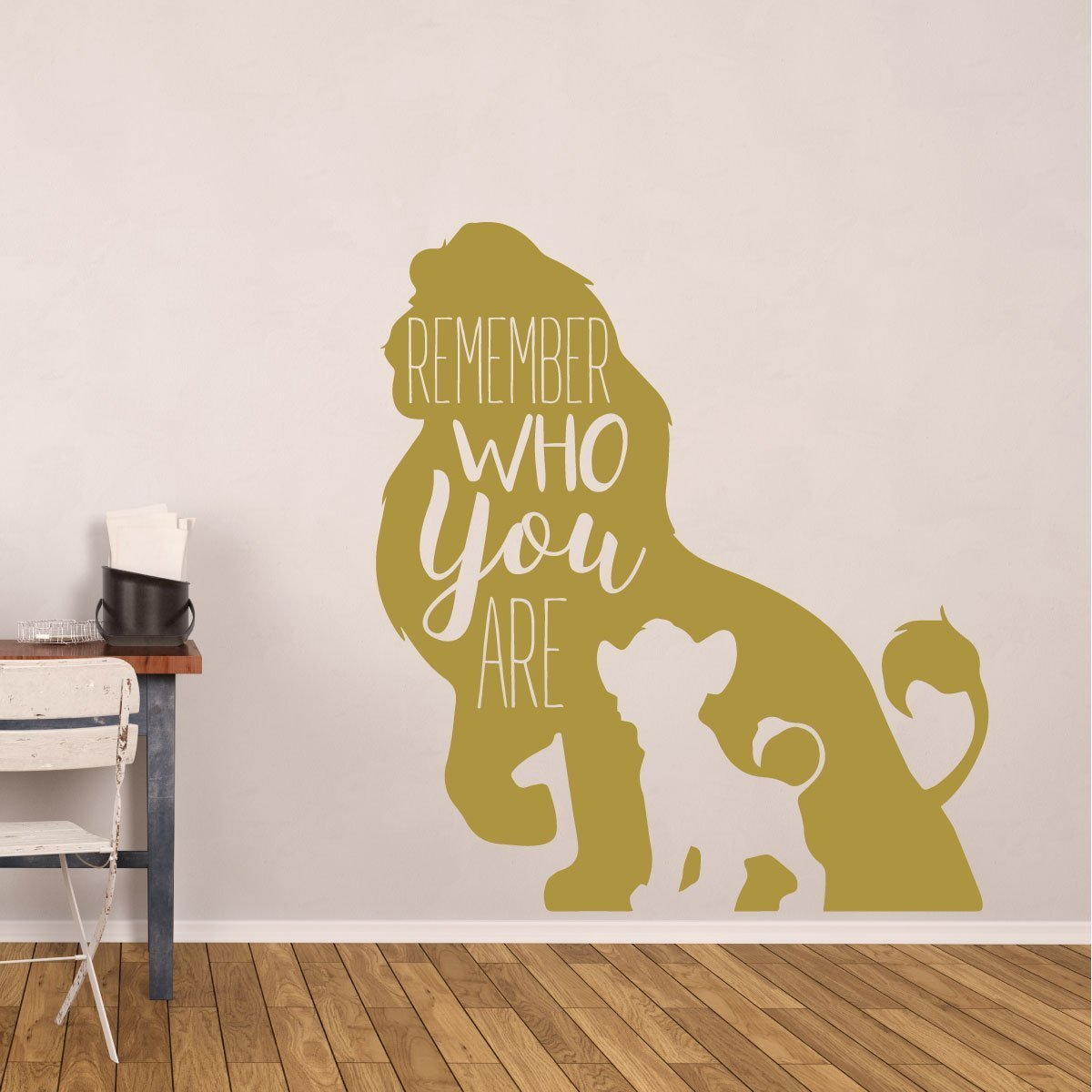 Simba Wall Decor - Disney The Lion King Decor- Remember Who You Are ...
