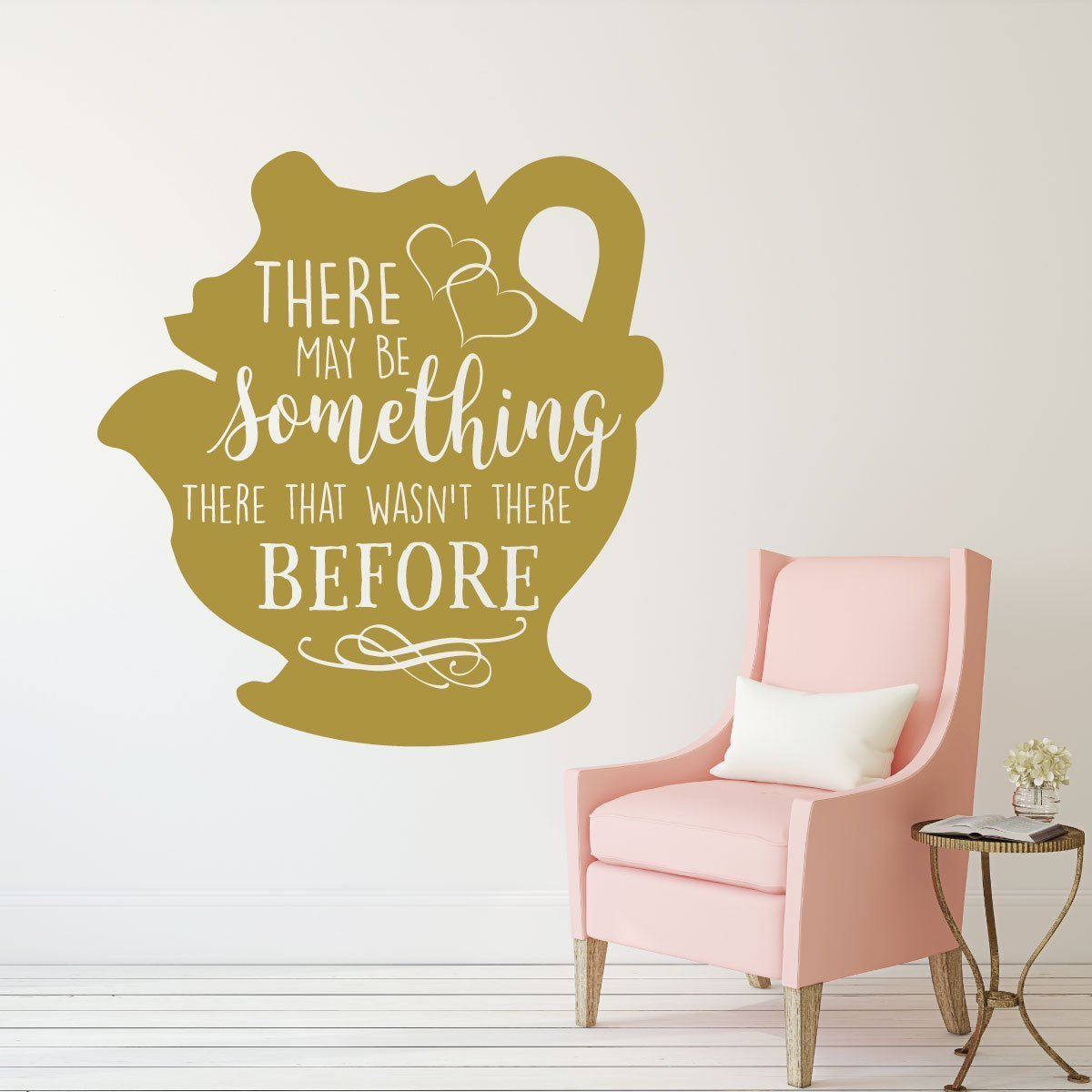 Mrs. Potts Decal - Beauty and the Beast Wall Decoration - There May ...