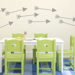 Arrow Shapes Vinyl Decals Wall Designs
