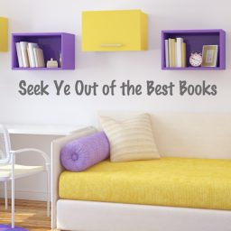 Seek Ye Out of the Best Books Vinyl Decal Wall Decoration