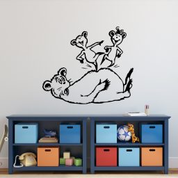 Dr. Seuss Hop on Pop Childrens Book Characters Vinyl Wall Decal