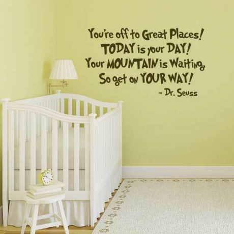 Its not easy being a princess Girls wall art sticker quote Childrens bedroom-105