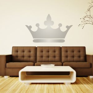 Vinyl Wall Decal Princess Crown Royalty Wall Decor Fairy Tale