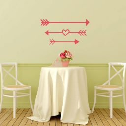 Love Arrow Wall Decal Vinyl Wall Decor