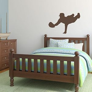 Baseball Player Wall Decal Diving Boys' Room Vinyl Wall Decor