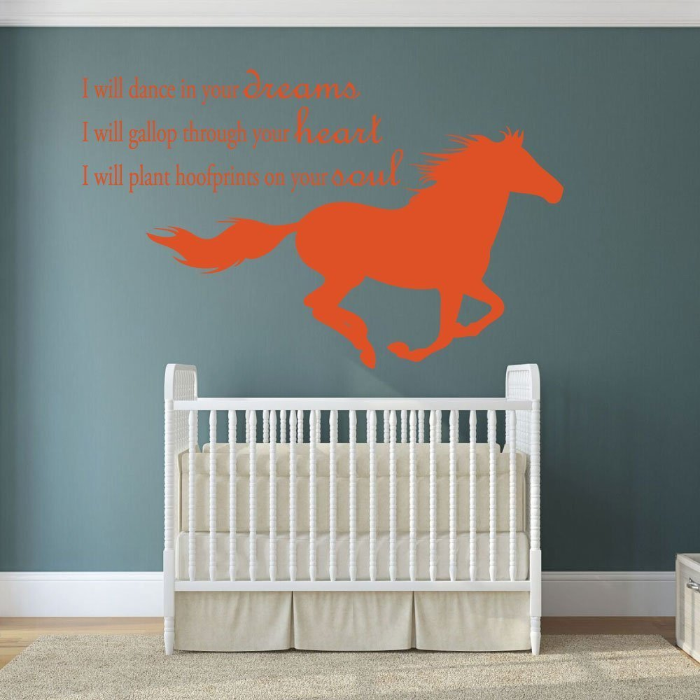 Dream wall decal i will dance in your dreams with for Decor dreams