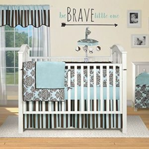 """Baby Wall Decal """"Be Brave Little One"""" For Nursery Wall Decoration"""
