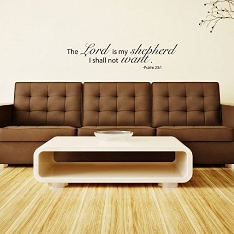 """The Lord Is My Shepherd..."" Psalm 23 Bible Verse"