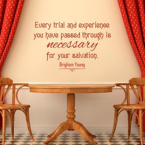 """Trials Necessary for Salvation"" - Brigham Young LDS Quote"
