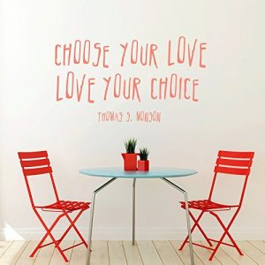 """""""Choose Your Love"""" - President Thomas S Monson LDS Quote"""