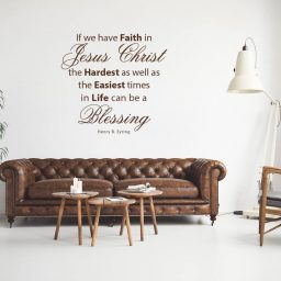 """Hardest Times In Life Can Be A Blessing...Faith in Jesus Christ "" - Henry B Eyring LDS Quote"