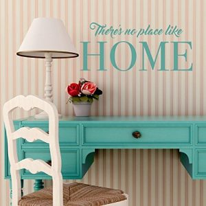 There's No Place Like Home Vinyl Wall Decal Home Decor